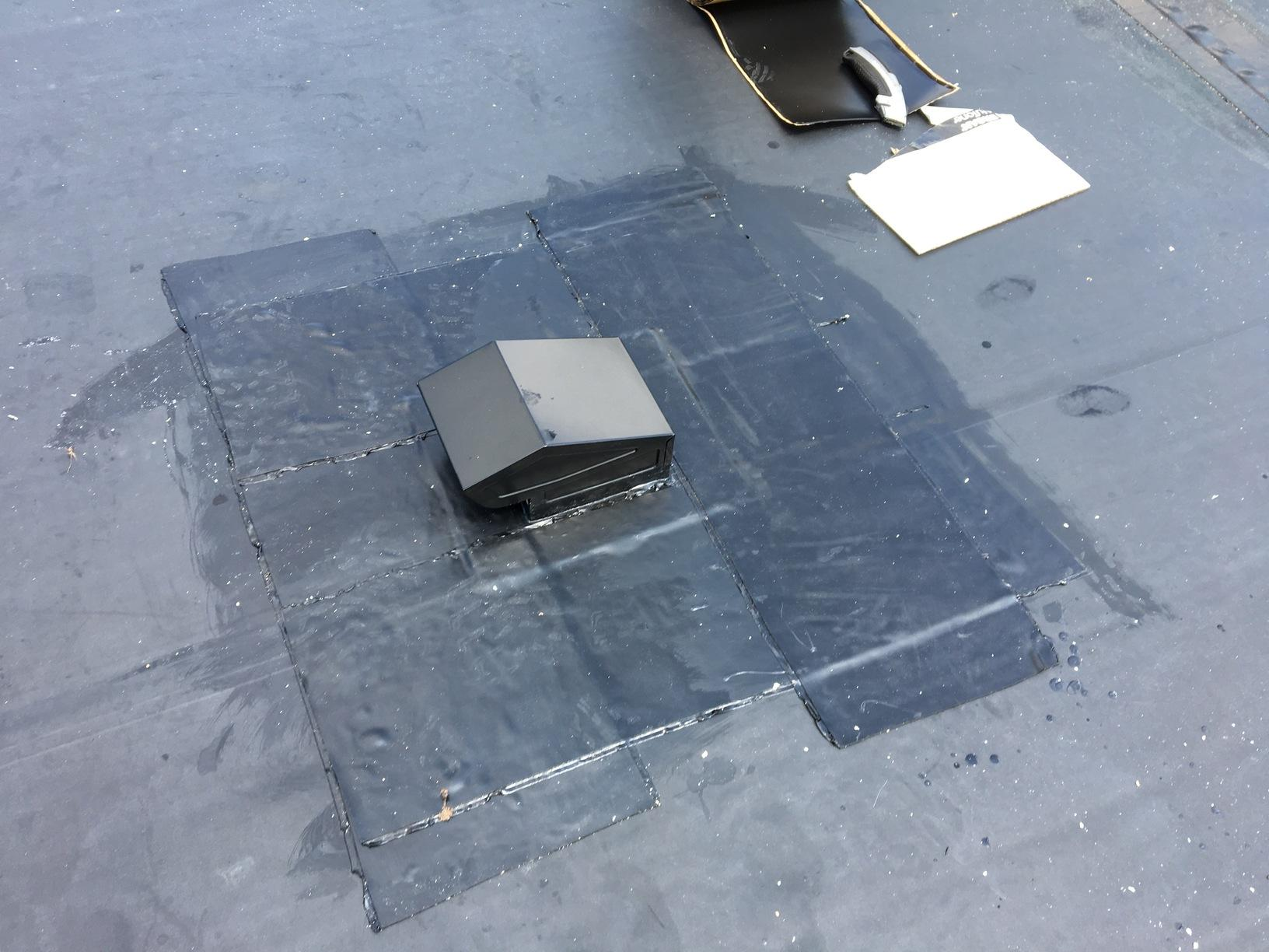 Commercial Roofing Epdm Rubber Roofing Bathroom Fan Vent