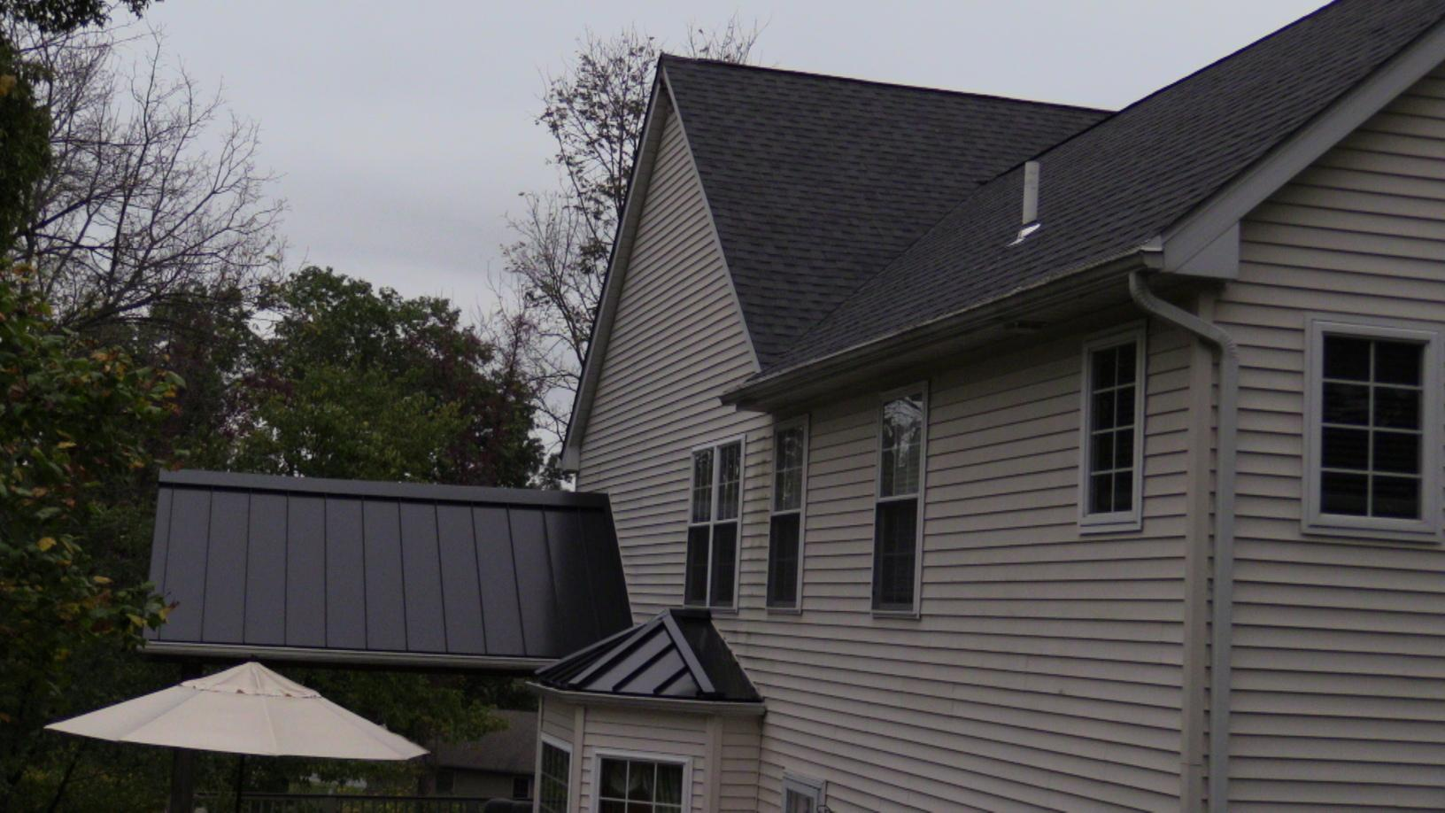 Roof Replacement Shingle And Metal Roofing Replacement