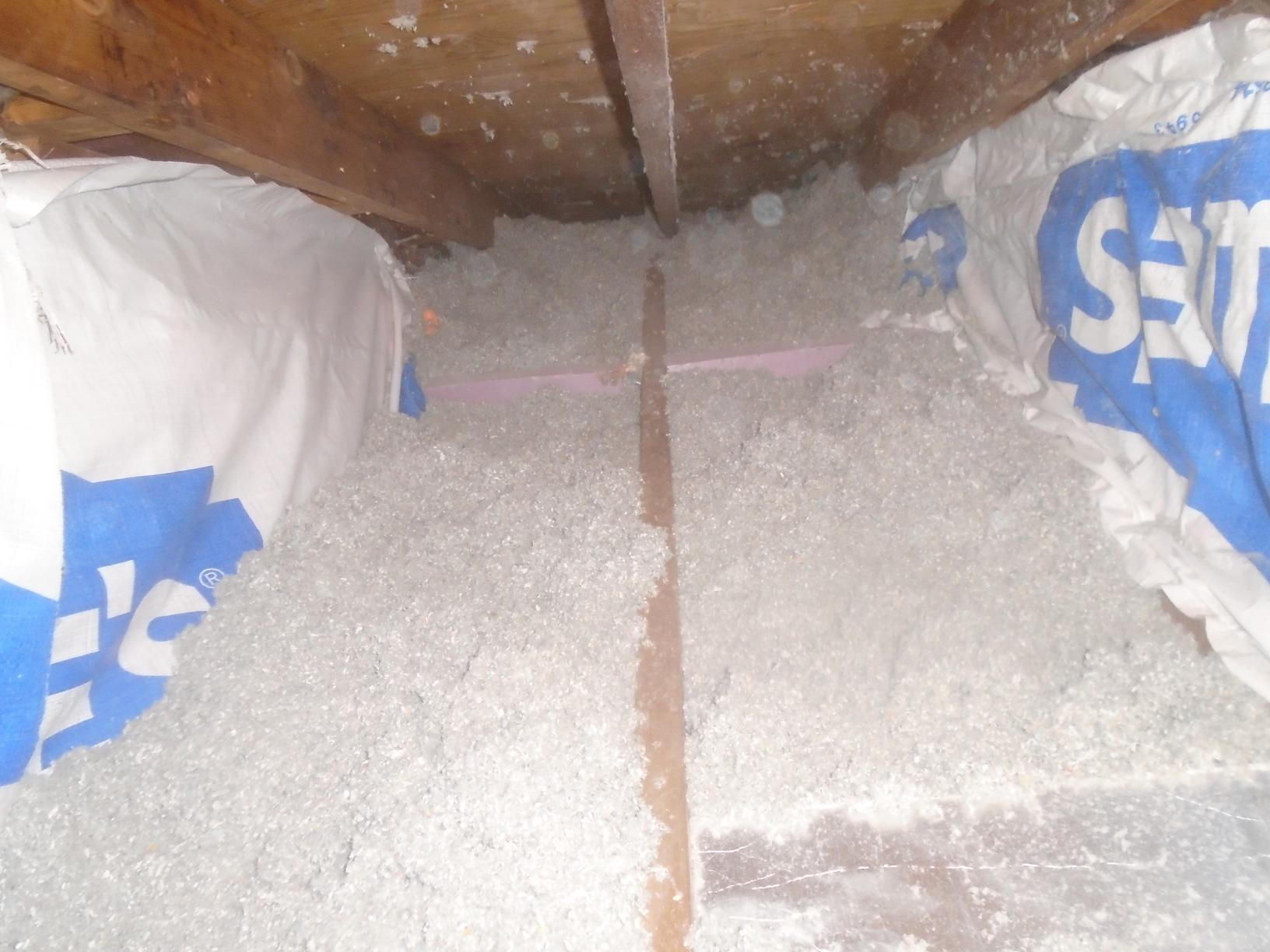 Insulation in Cape Cod home in Clifton Springs