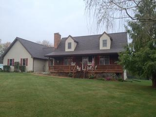Front View of Roof Replacement