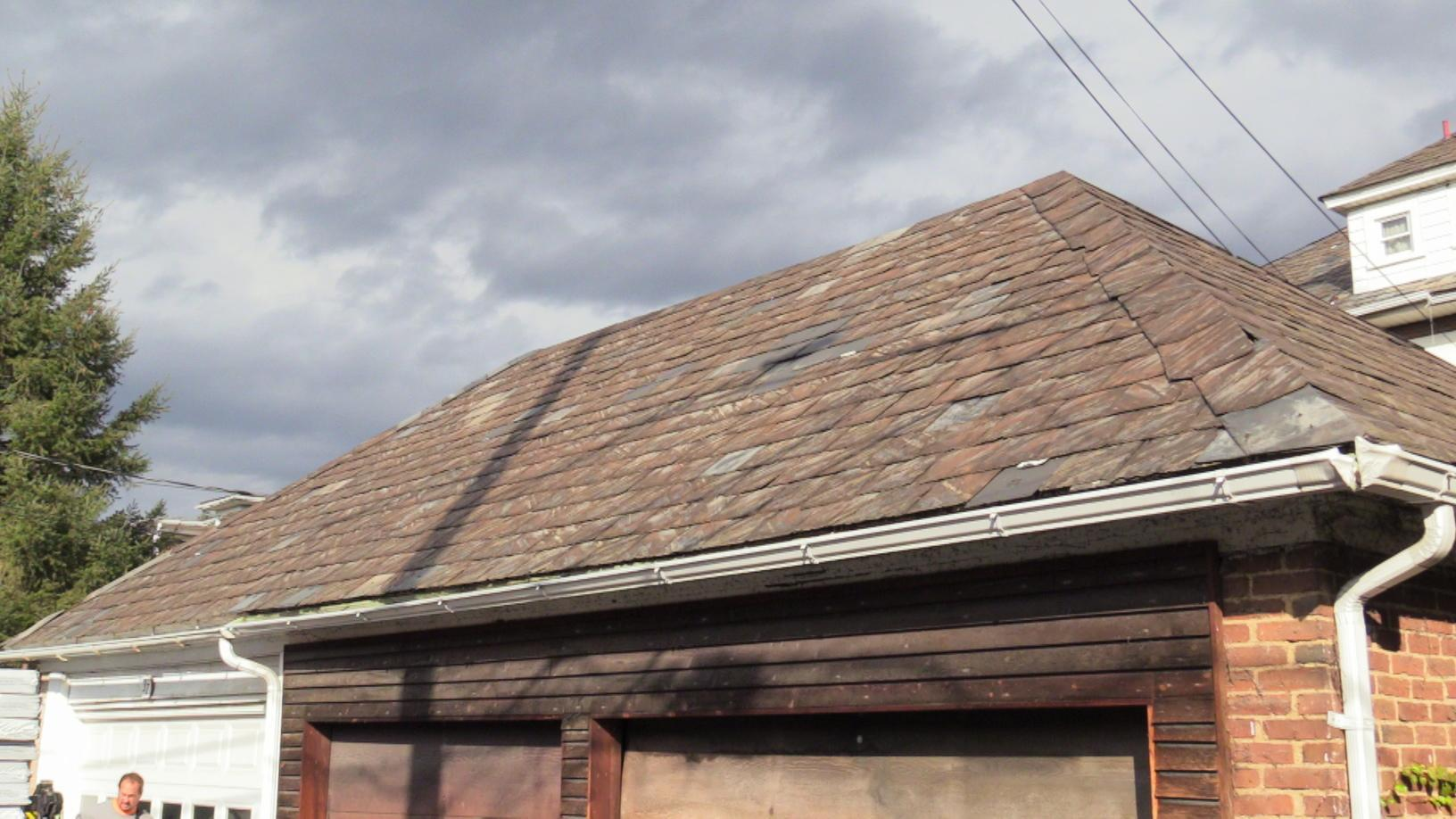 Another Garage Roof Shot