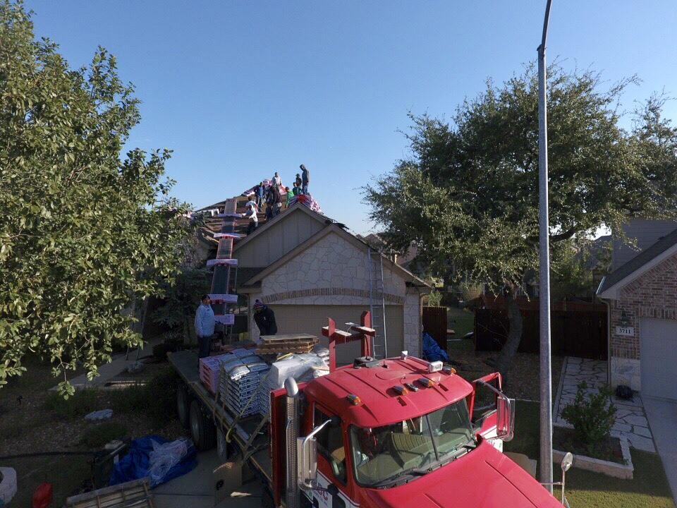 Roof Replacement In Indian Springs San Antonio Tx 78261