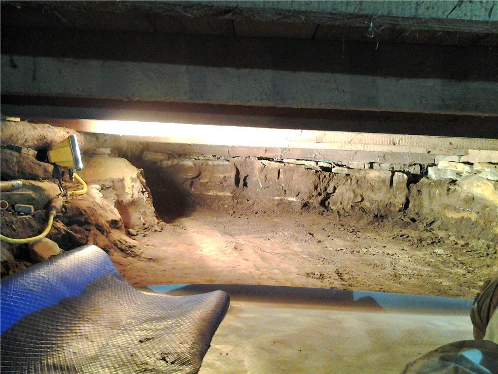Crawl Space Renovation in Ettrick, WI
