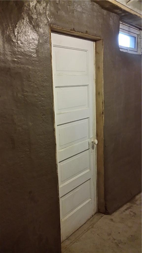 Shotcrete Installed Around Door