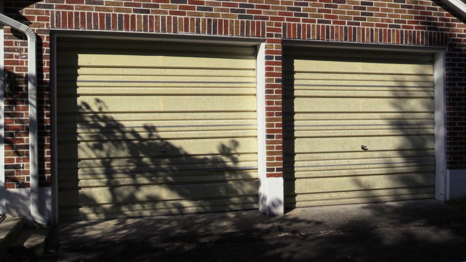 Dual Garage Doors to Be Replaced