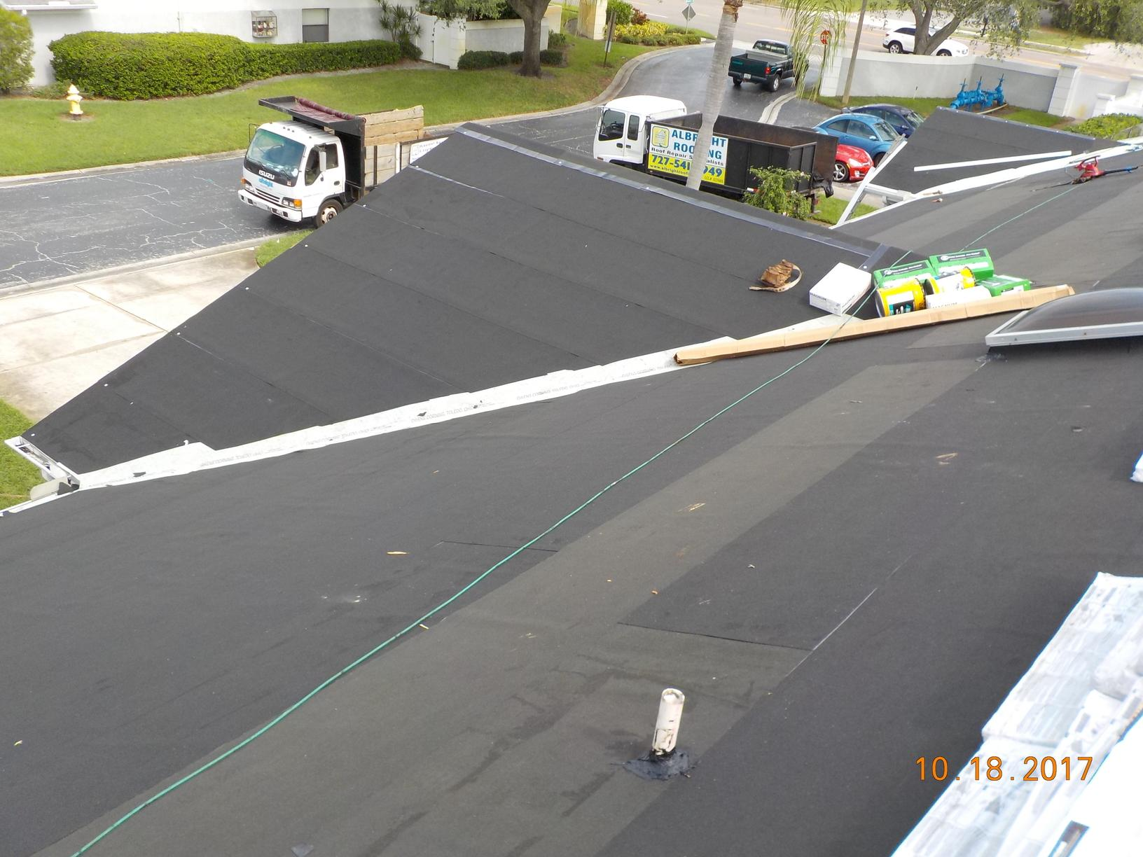 Residential Roof Replacement Phase 1 Of Villas At Forest