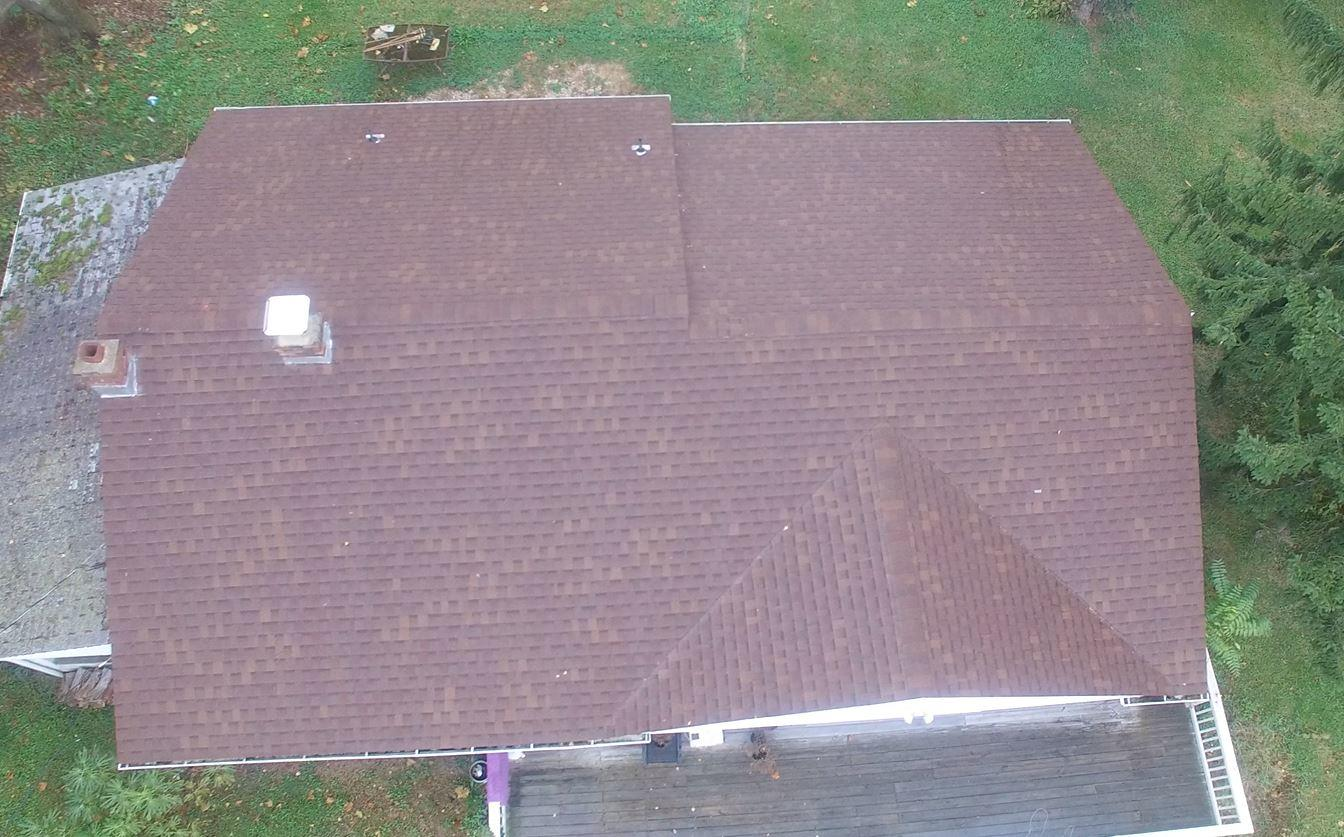 Aerial View of New Northampton Roof