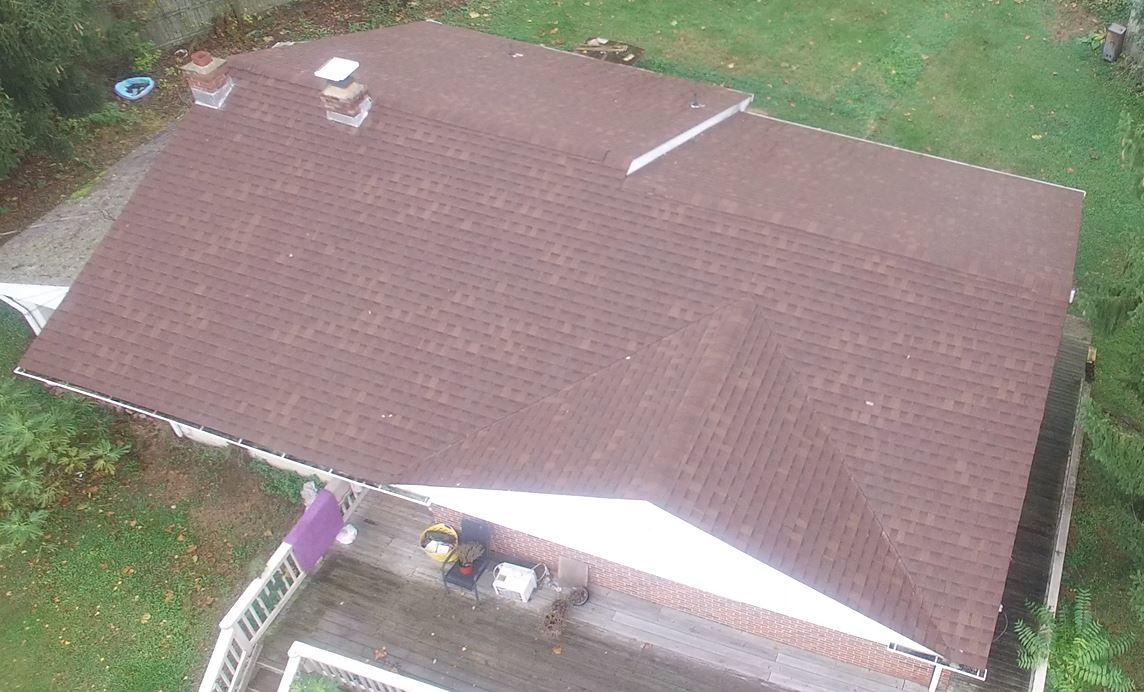 Overall View of the Roof Installed With the Highest Quality Worksmanship