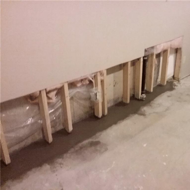Basement Waterproofing Hidden Sump System In Se Calgary