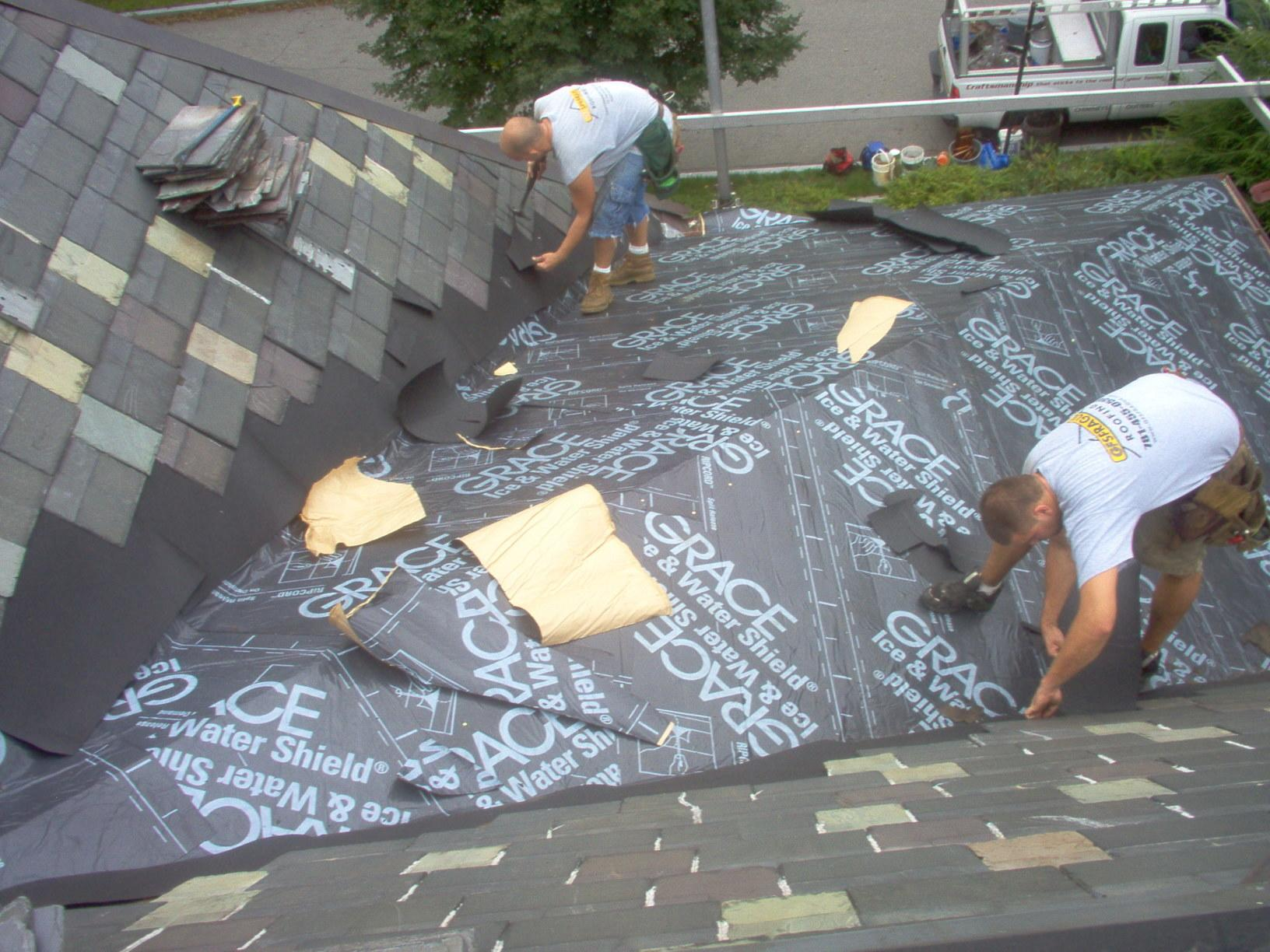 Types Of Roofing Slate Roof Replacement In Winchester