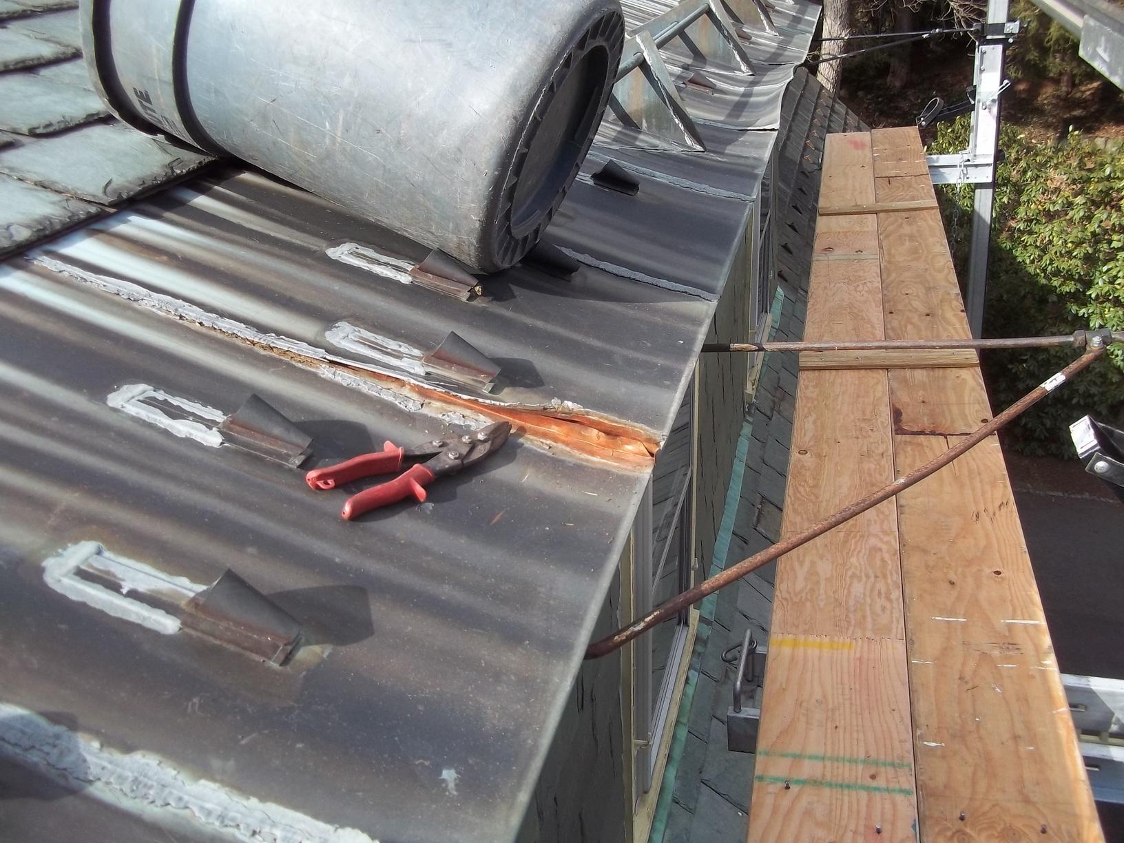 GF Sprague - Types of Roofing Photo Album - Slate Roof ...