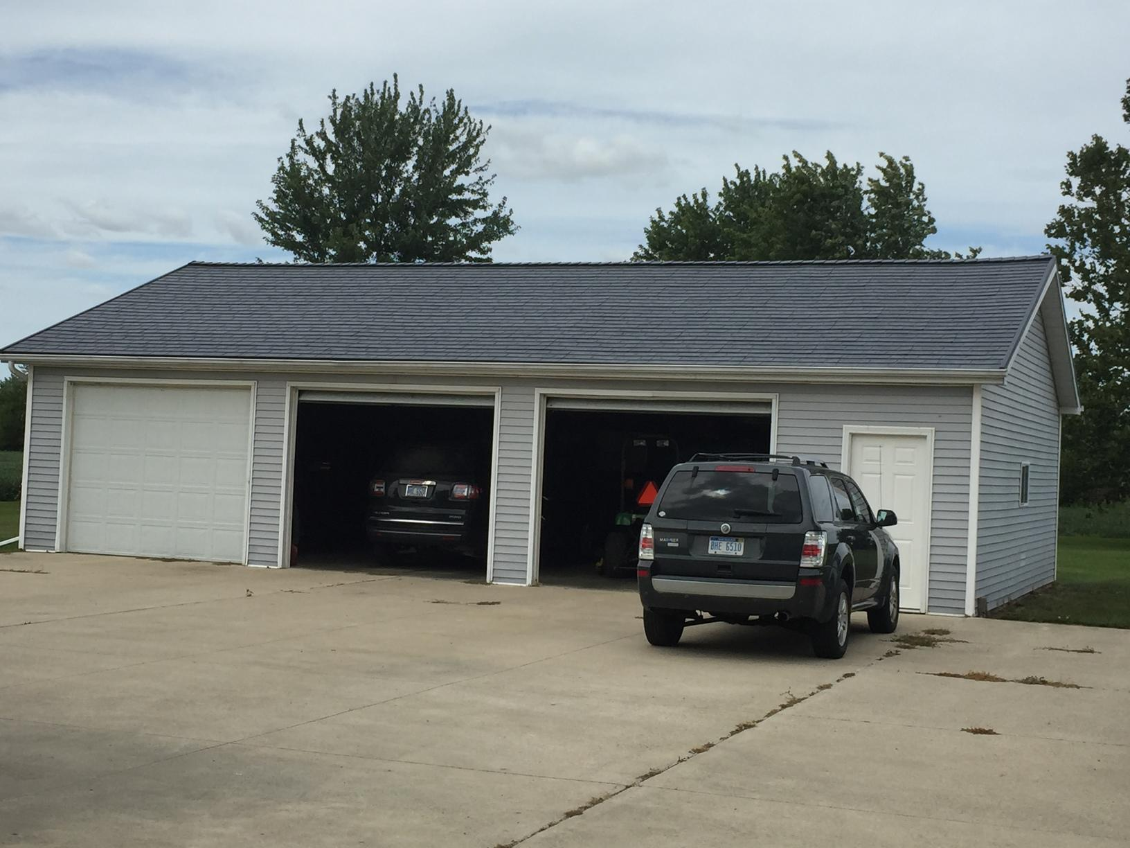 Garage roof Replacement in Temperance