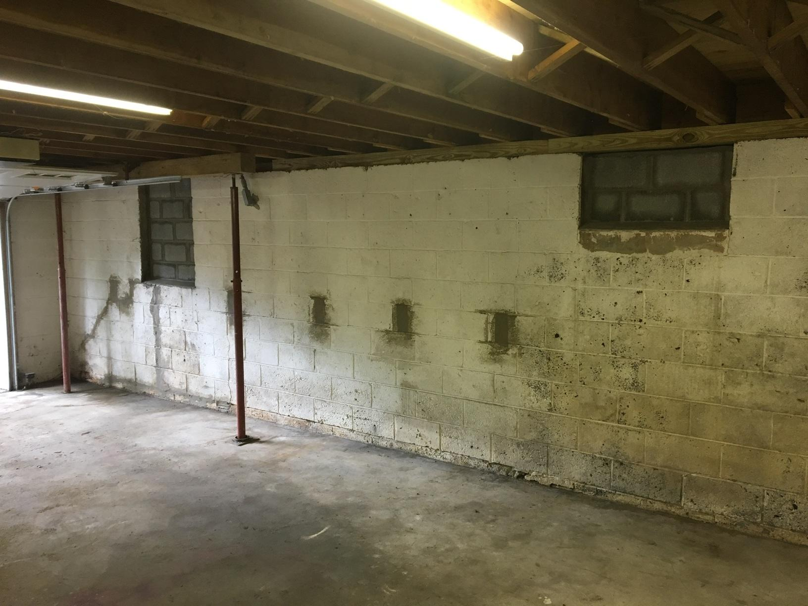 Our homeowner now has a functioning foundation/garage that can be used as a shop for storage or to park cars.