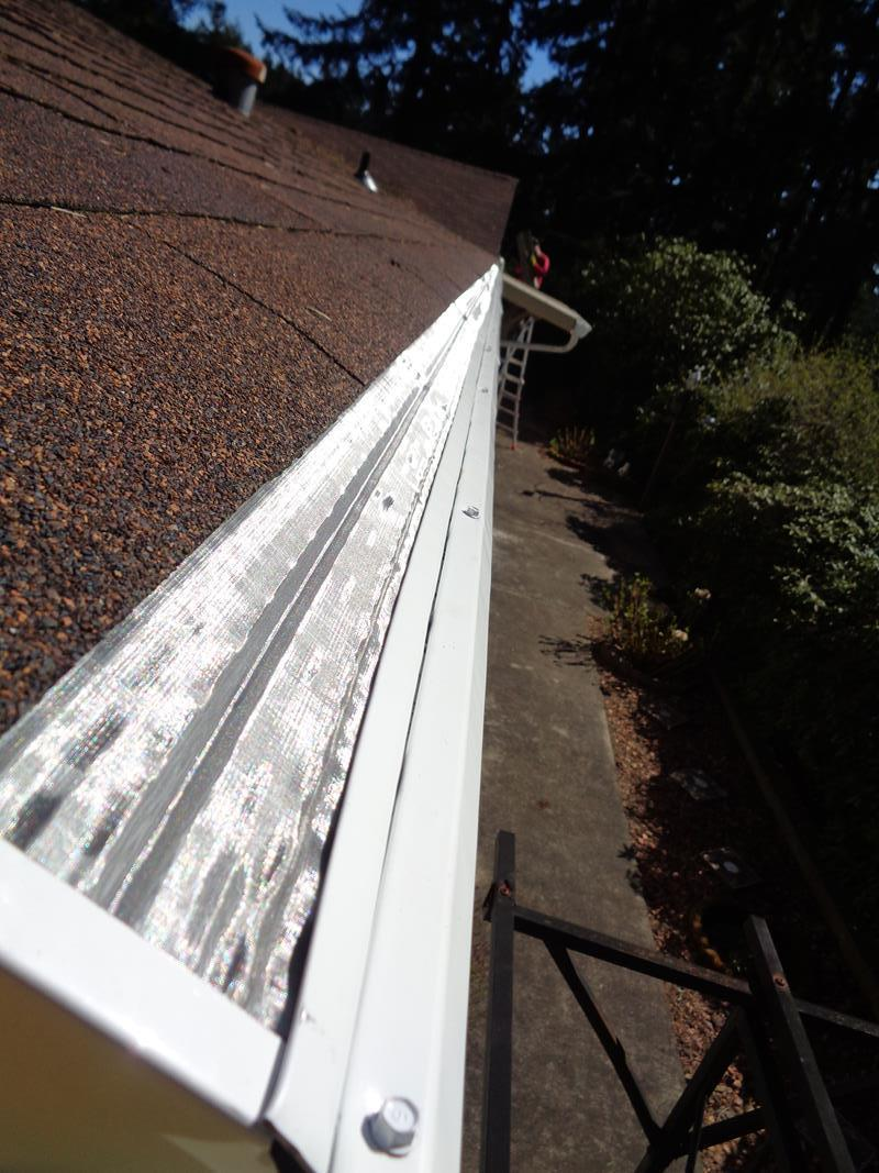 Closeup of MasterShield system Installed in Spanaway