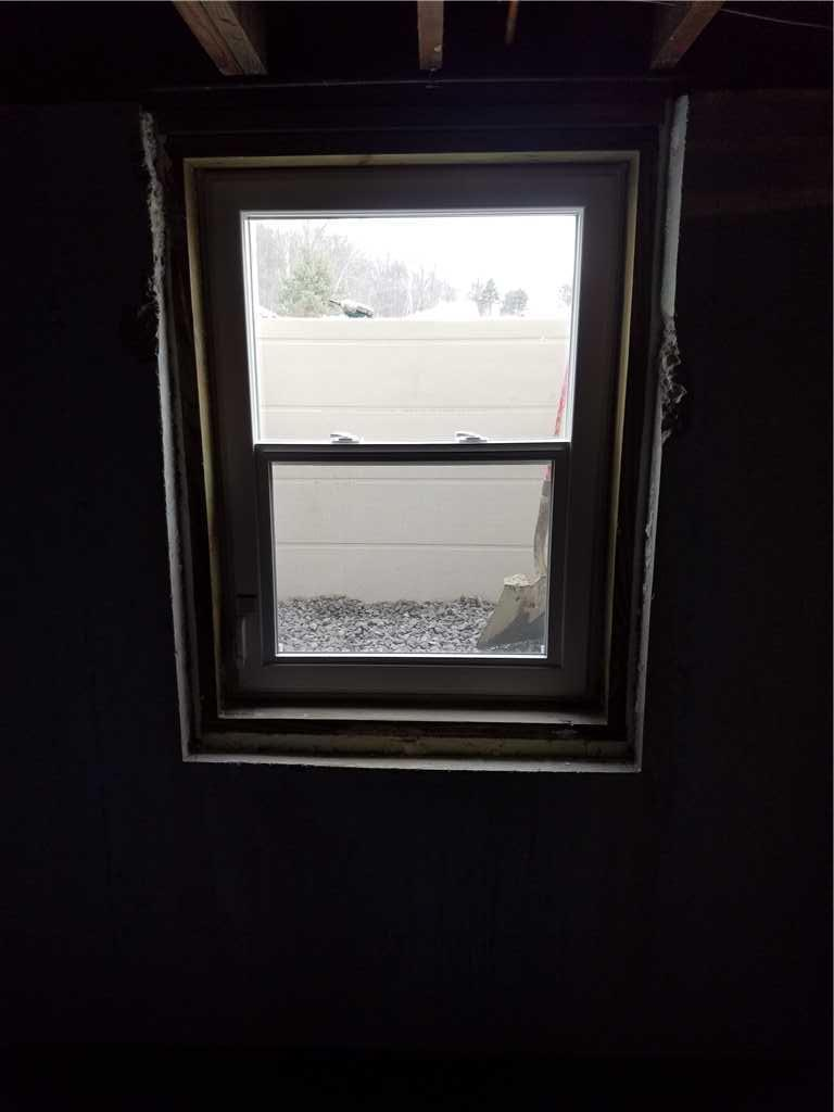 Egress Window Inside
