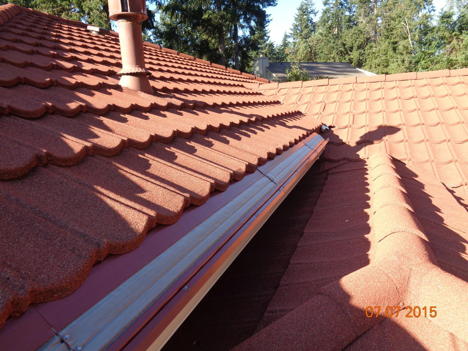 MasterShield Gutter Guards Installation on a Tile Roof