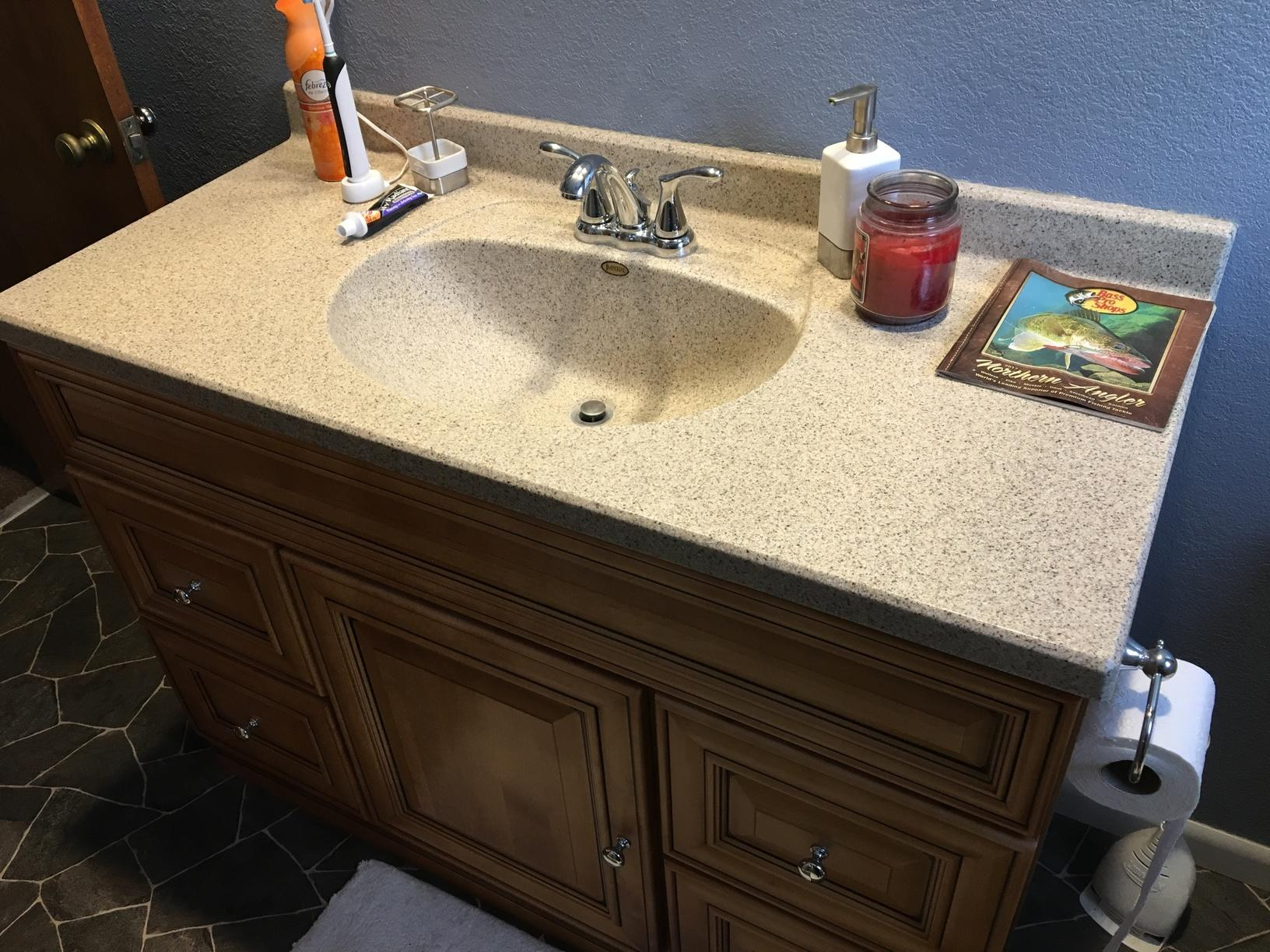 Updated Sink and Vanity in Swanton, Ohio