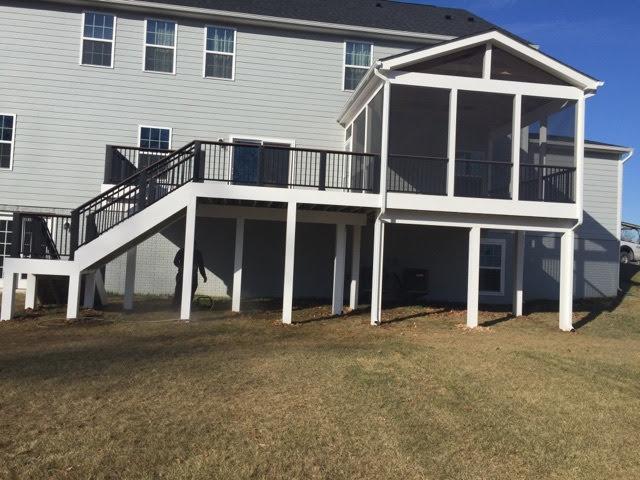 Maintenance Free Porch Installed in Gainesville, VA