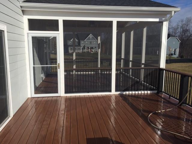 Porch Install in Gainsville, Virginia