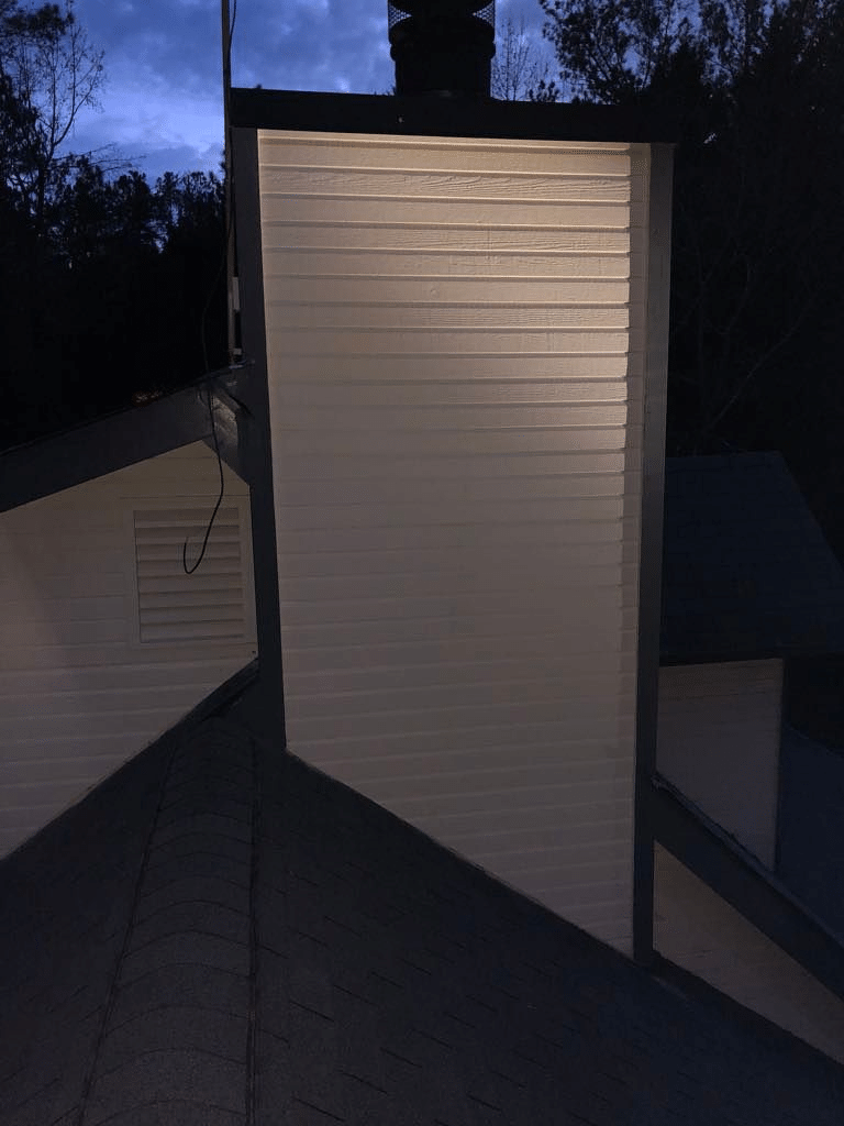 After Finishing the Siding Install