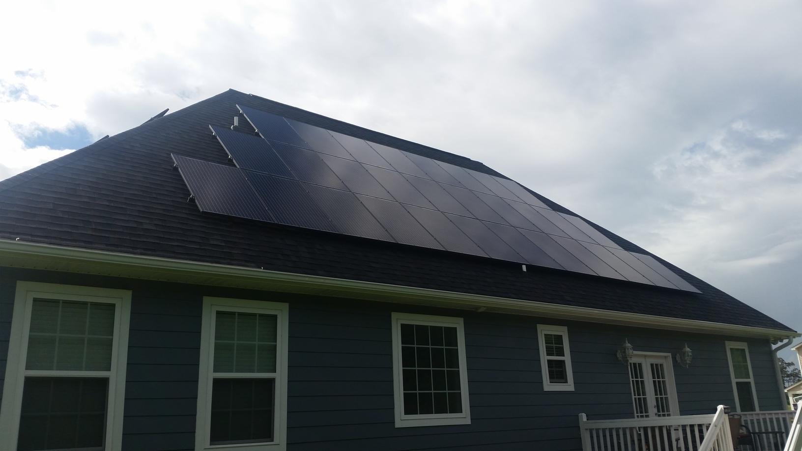 Back Roof Installation