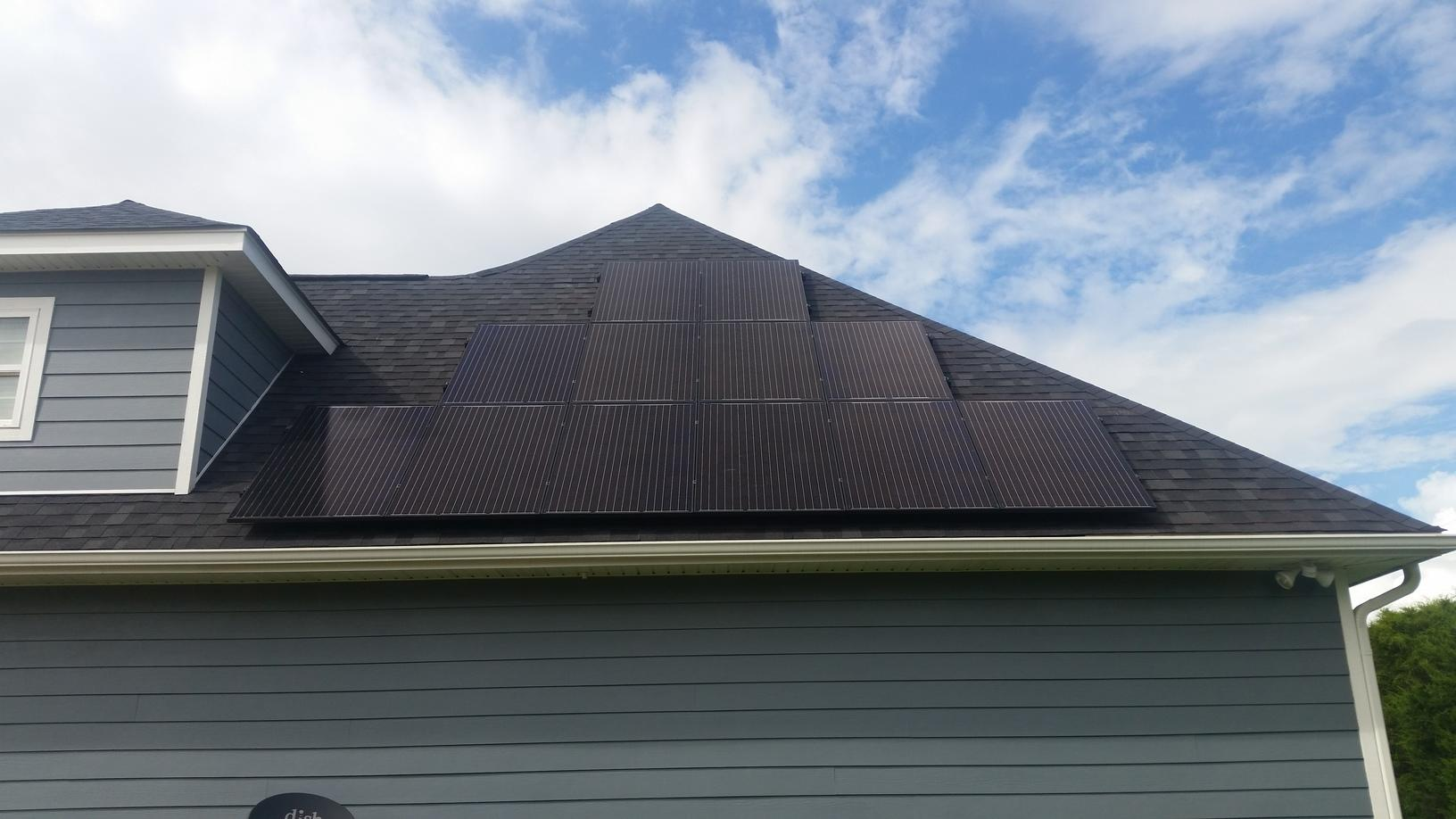 Side Roof Installation