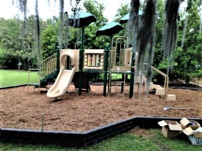 Toddler Playground Constructed in Beaufort South Carolina.
