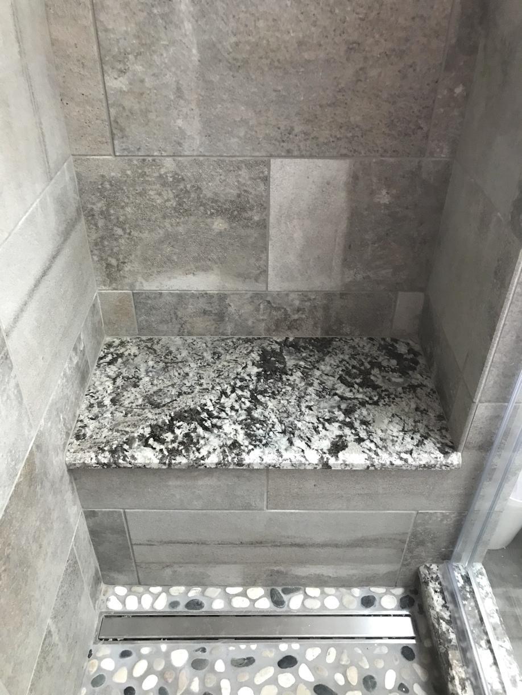 Lennon Granite Shower Seat