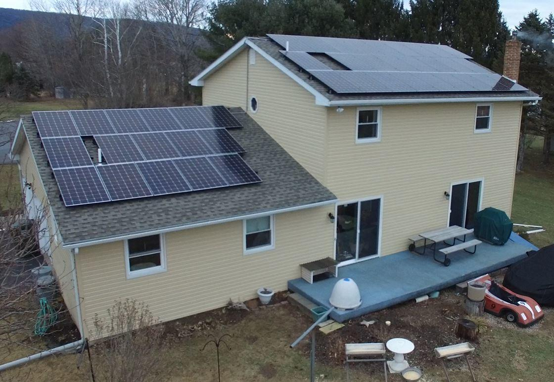 Pinnacle Exteriors Took This Home Off The Grid