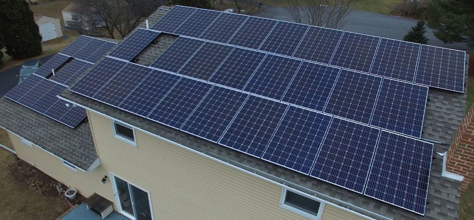 Roof Full of Solar = Lowered or No Electricity Costs
