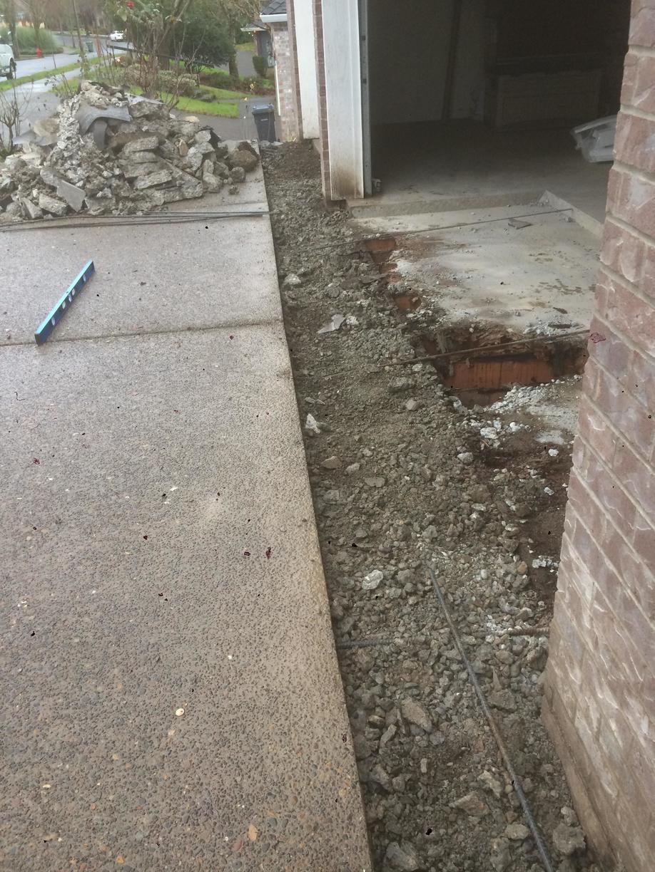 Braking out Concrete
