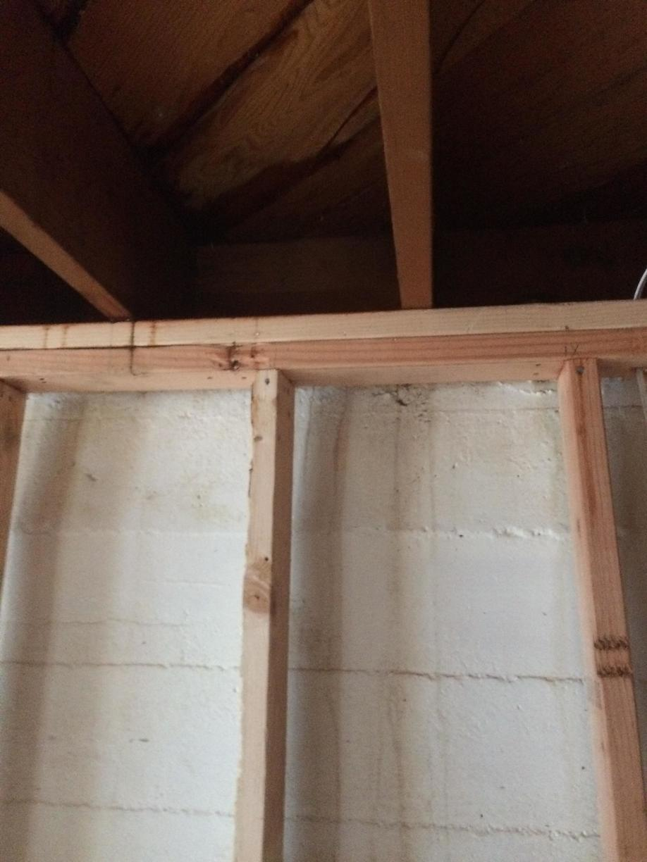 Wall Finishing After Thermal Dry