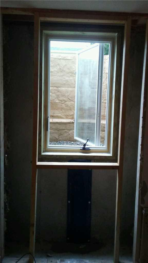 Egress Window Officially Installed!