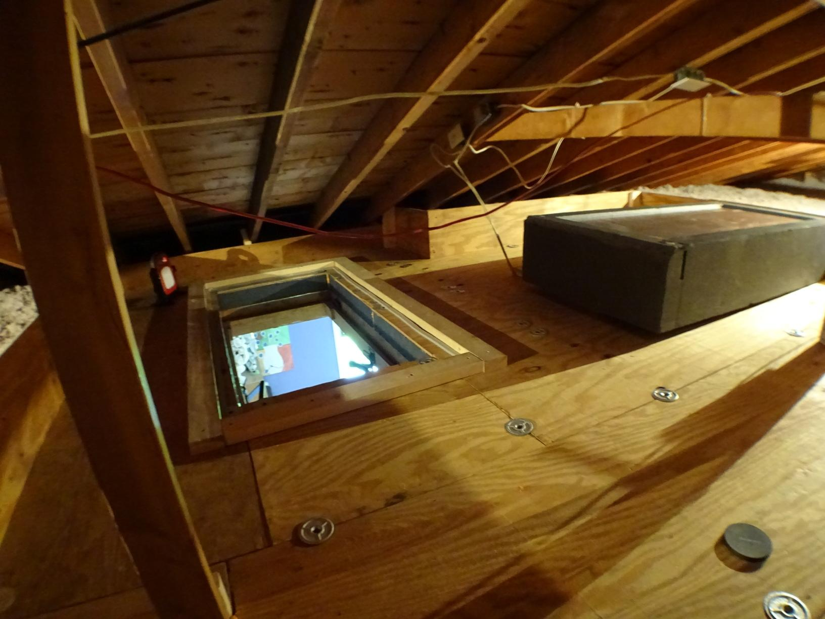 Attic Insulation After Pt. 5