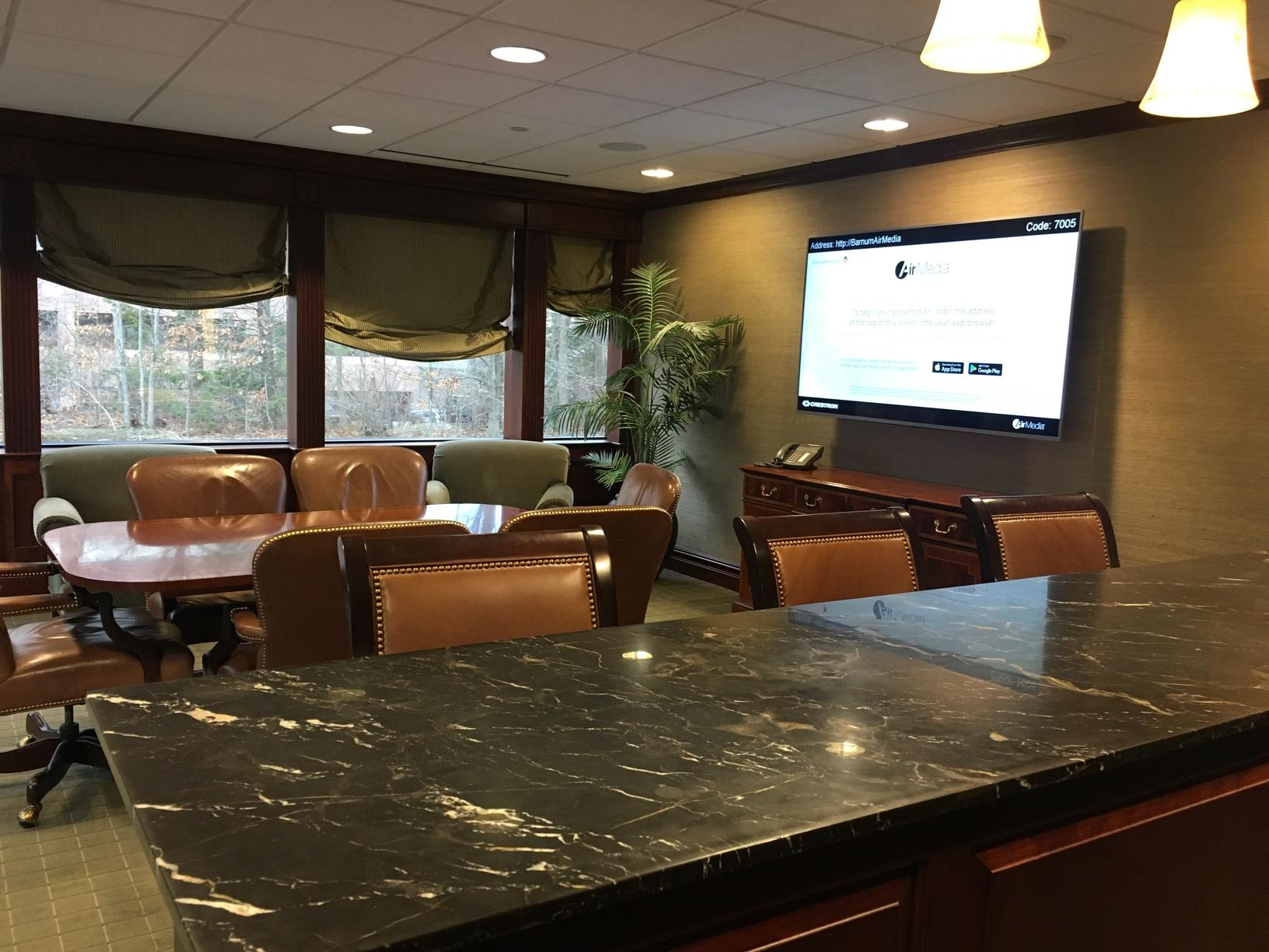 Conference Room Installation at Barnum Financial