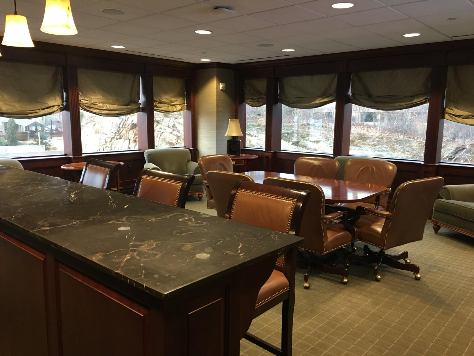 Barnum Finanical Group Conference Room Installation