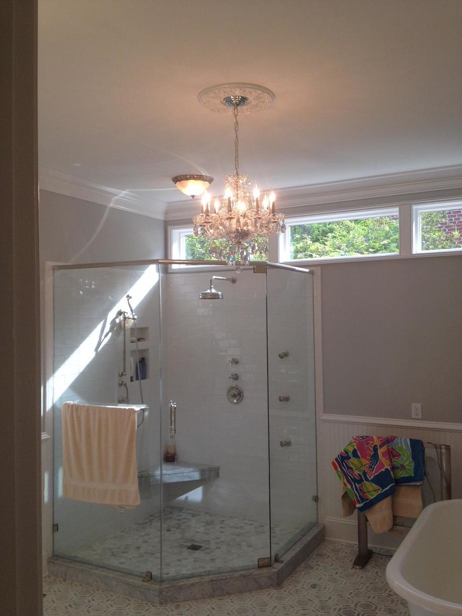 Ladson South Carolina, Bathroom Remodel - Chandelier ...