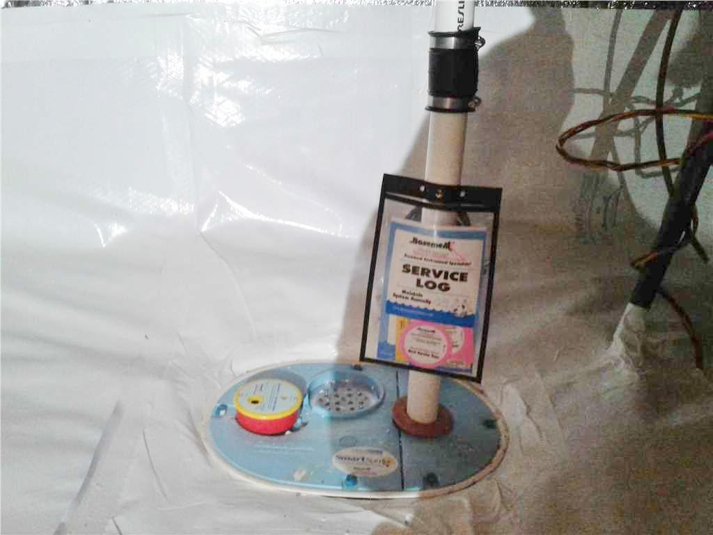 SmartSump Pump & Vapor Barrier System