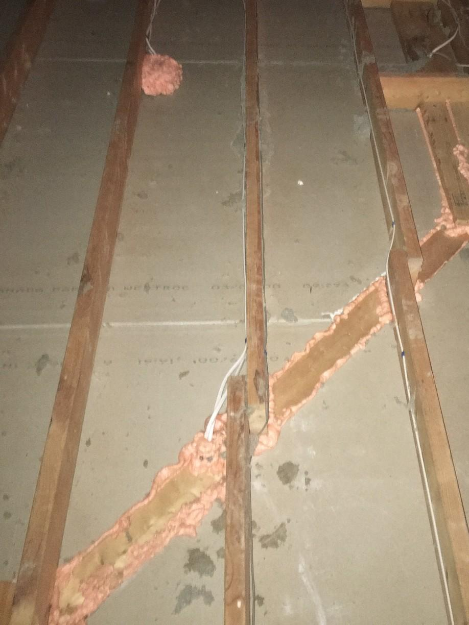 Air sealing to plates and electrical penetrations