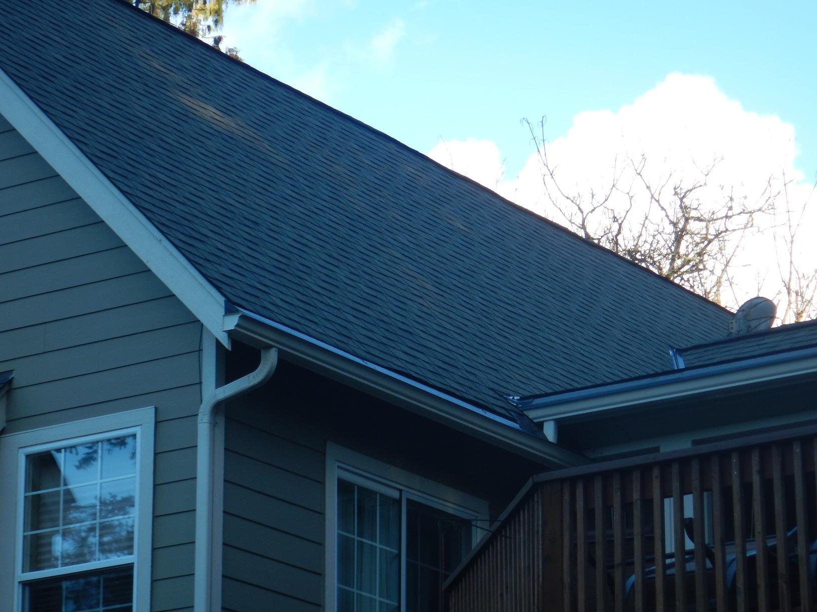 Protected gutter system installed in Graham, WA