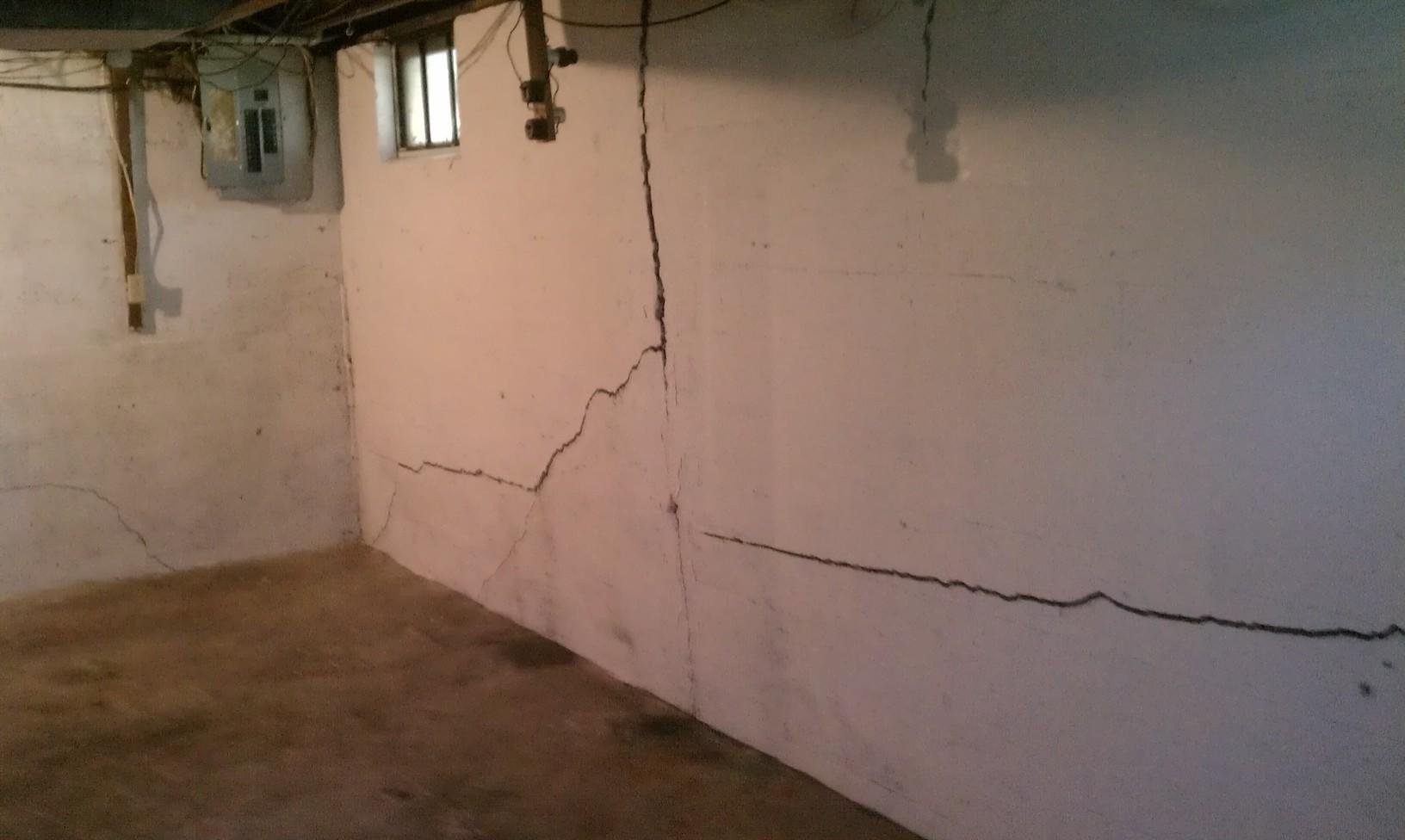Cracks and a Bowing Wall