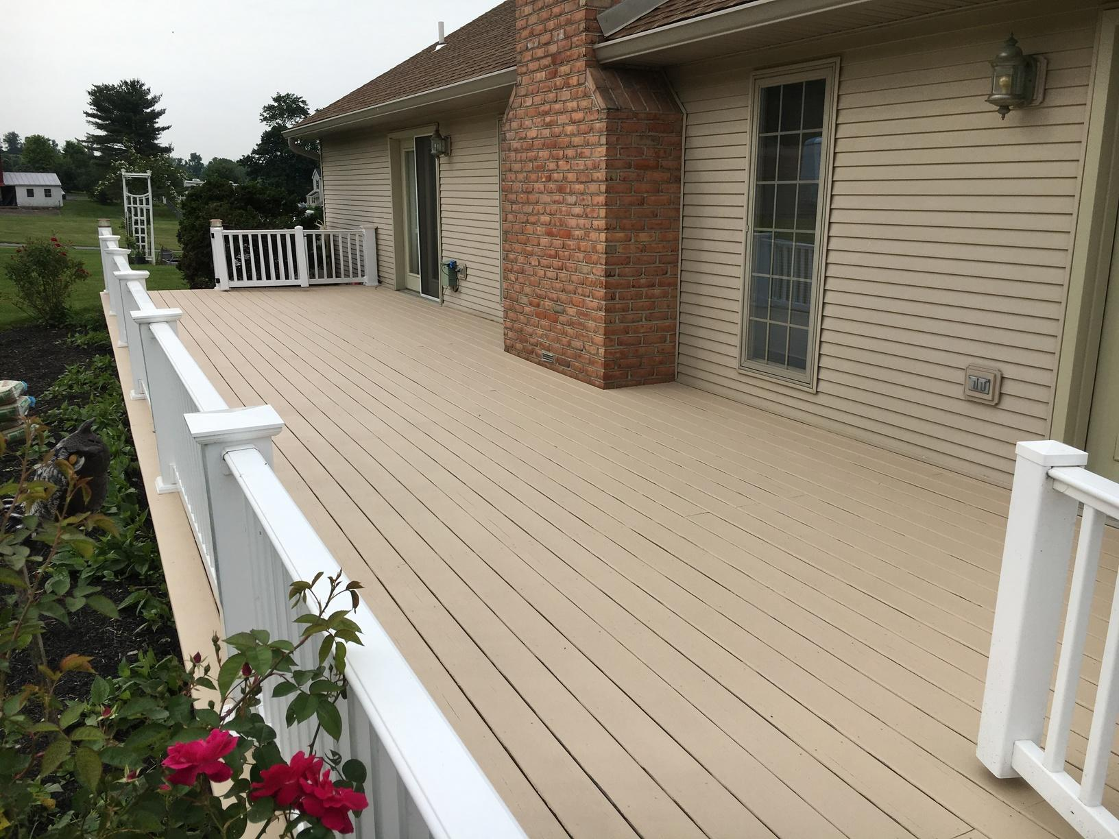 Deck Coating Painted on in Carlisle, PA