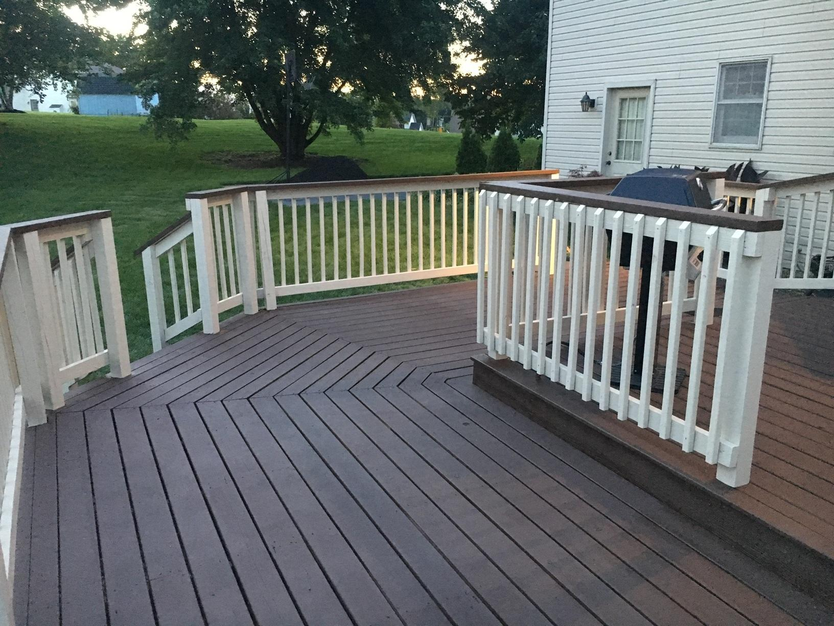 Deck Ceramic Coating Applied in Highspire, PA