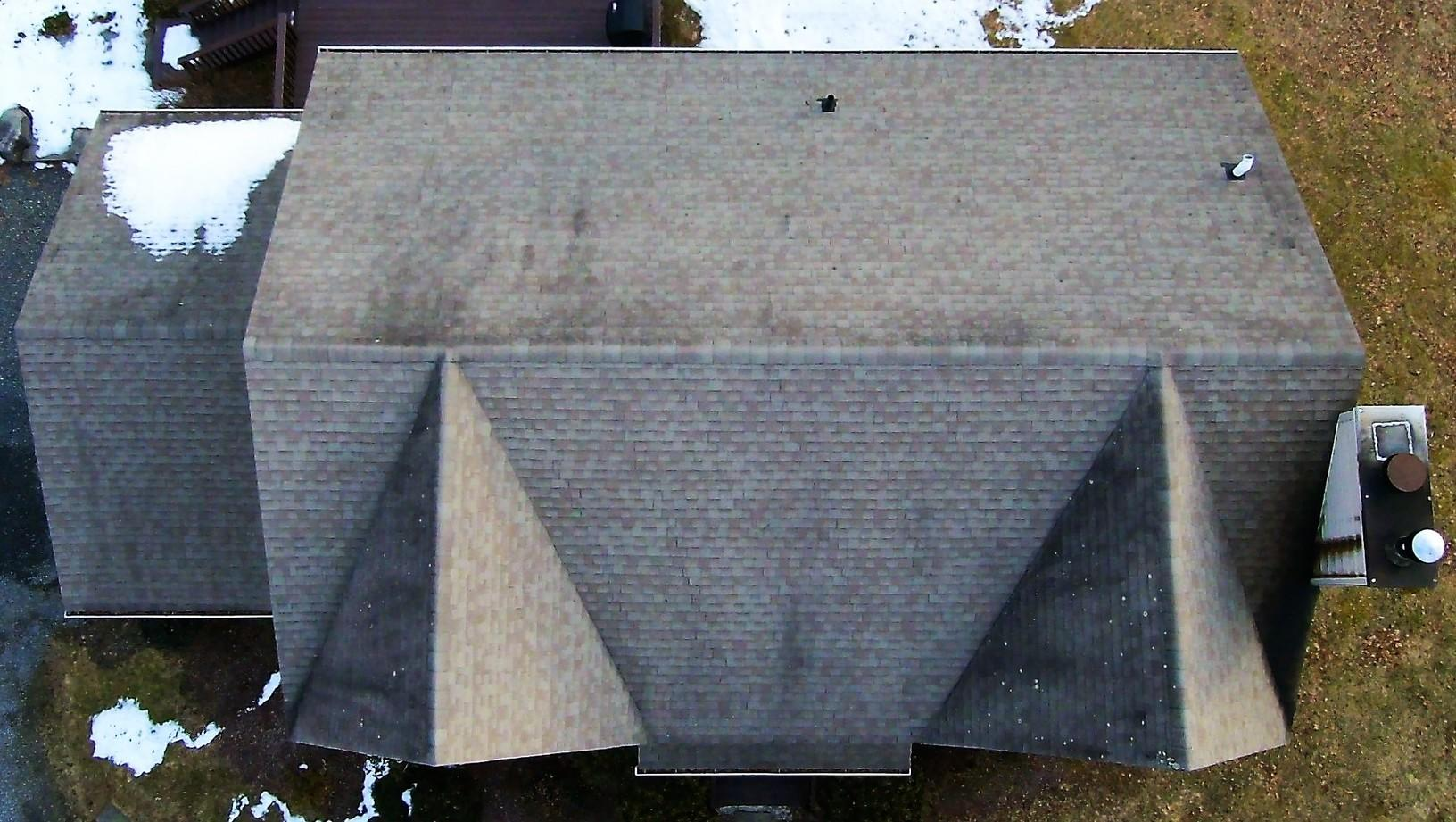 The Old Roof Needing Replacement