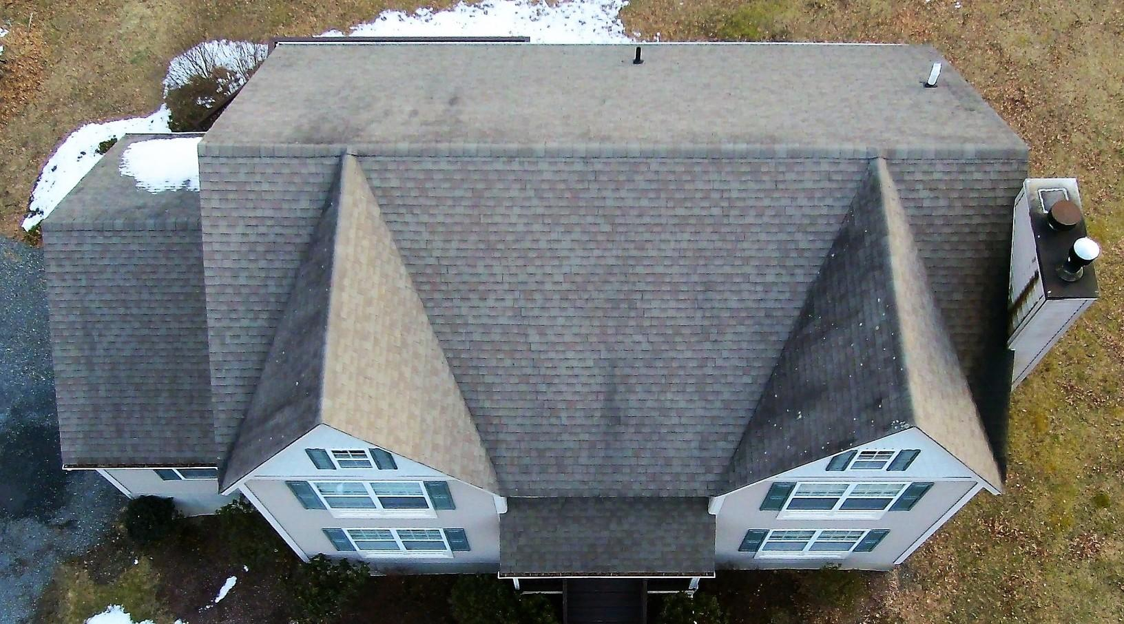 Damaged and Worn Roof In New Paltz, New York