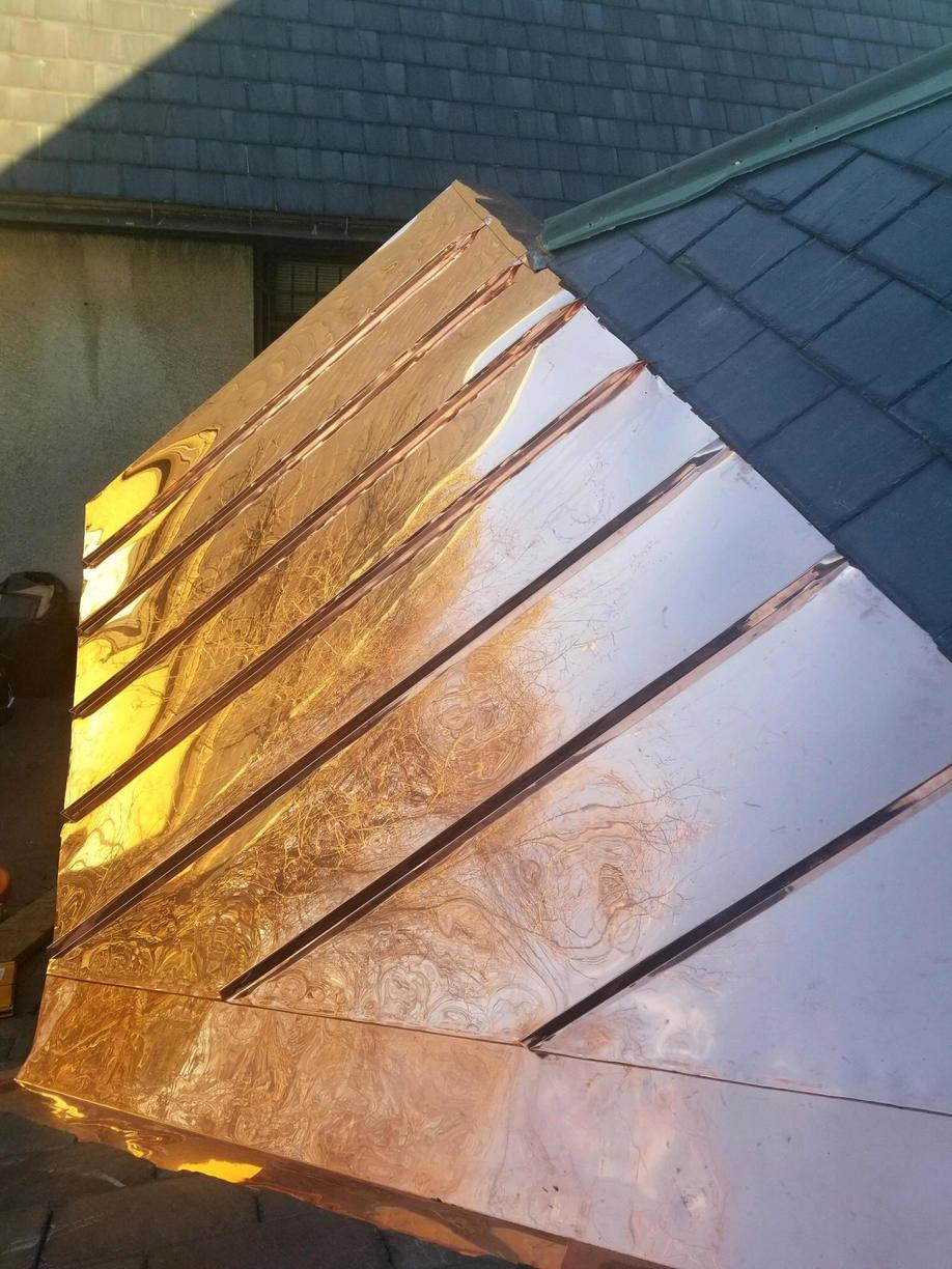 Finished Copper Panels