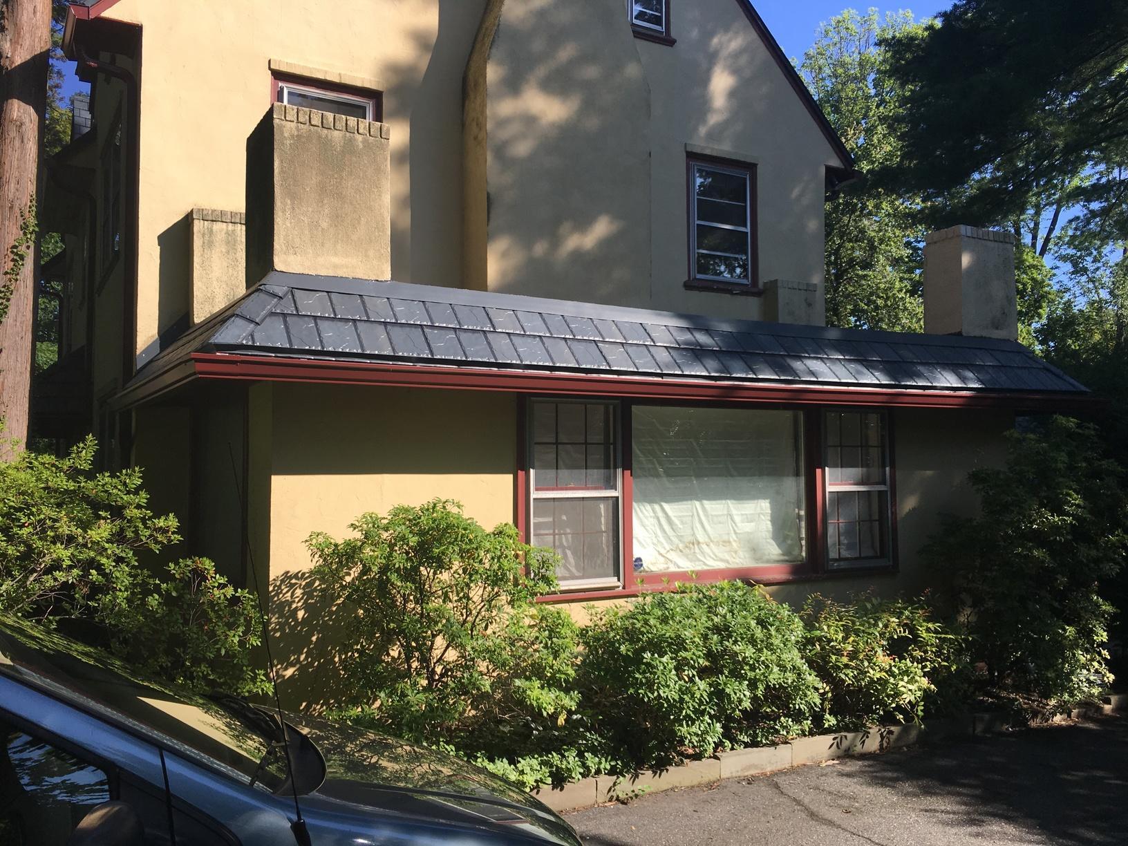 Custom Steel Slate Roof Install in Villanova, PA