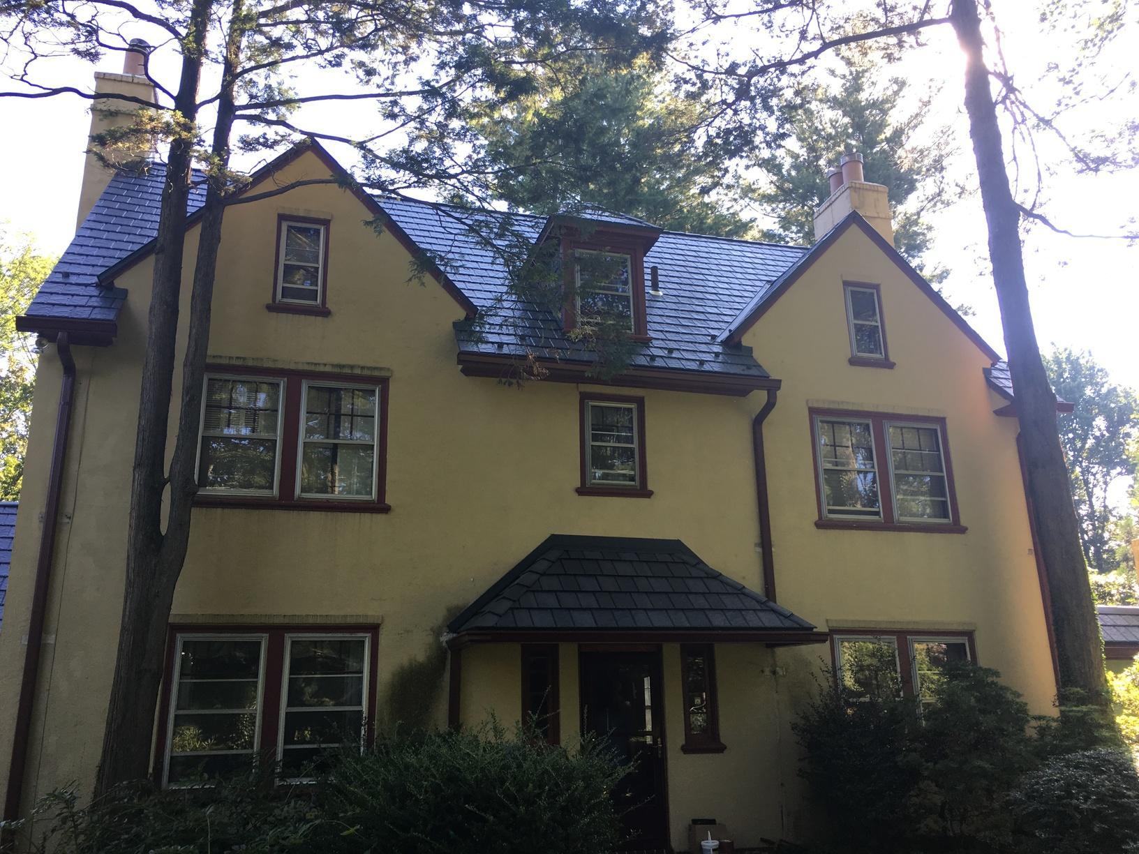 Edco ArrowLine Slate Roof Install in Villanova, PA