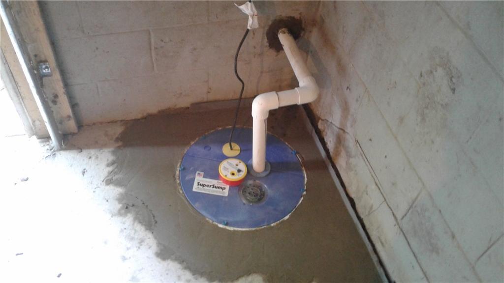 SuperSump with WaterWatch Alarm