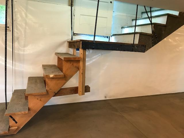 Steps to allow new floor